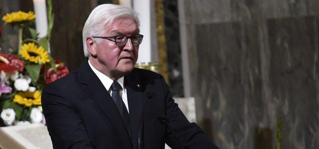 (Deutsch) Besuch des Bundespräsidenten Steinmeier in der Christuskirche am 8. Oktober 2017