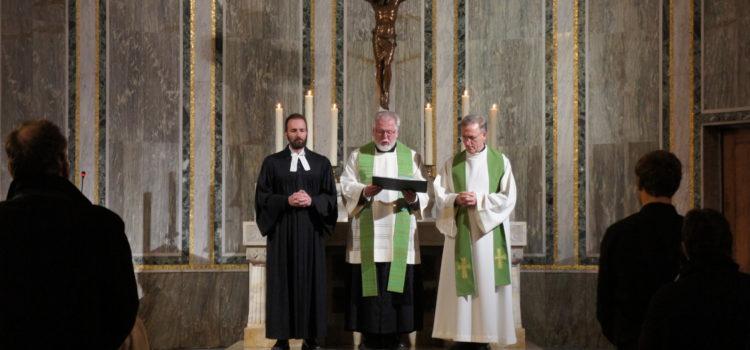 (Deutsch) Ökumenische Vesper im Rahmen der Gebetswoche für die Einheit der Christen am 19.01.20