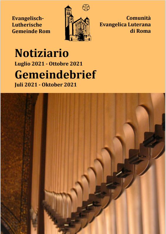Der aktuelle Gemeindebrief / Il notiziario attuale