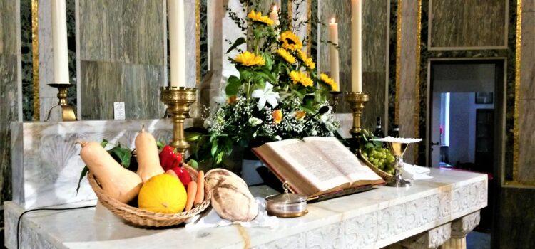 Festa di Ringraziamento per il Raccolto – domenica 3 ottobre